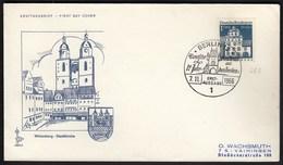 Germany Berlin 1966 / Wittenberg Stadtkirche / Church / Architecture / Deutsche Bauwerke Aus 12 Jahrhunderten - Churches & Cathedrals