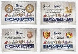 Tonga 2015, 800th Magna Carta, Horses, Kings, Arm, 4val - Tonga (1970-...)