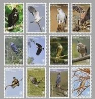 Tonga 2018, Birds Of Prey, Kite, Eagles, Hawk, 12val - Tonga (1970-...)
