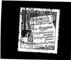 CG39 - 1958 Cile -. Mappa Antartica - La Araucana - Tratado Antártico