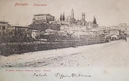 Cartolina - Bazzano - Panorama - Proprietà Esclusiva Clemente Zanetti - 1902 - Bologna