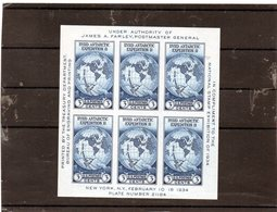CG39 - 1934 Stati Uniti -Byrd Antarctic Expedition - Research Programs