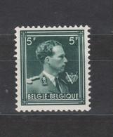 COB 1007 * Neuf Charnière Légère Dentelé 11 1/2 Cote 57,50€ - 1936-1957 Col Ouvert