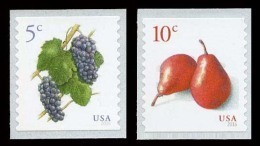 Etats-Unis / United States (Scott No.5038-39 - Fruits) [**] - United States