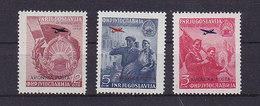 Jugoslawien 575-77 ** - Poste Aérienne