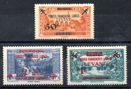 Levant F.F.L. Y&T 41*, 42**, 43** - Levant (1885-1946)