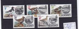 Alderney Nr.13-17 ** - Alderney