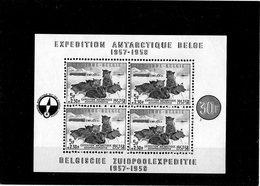 CG39 - 1957 Belgio - Spedizione Antartica - Eventos Y Conmemoraciones