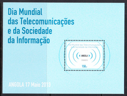 2013 Angola International Communications Year Complete Souvenir Sheet MNH - Angola