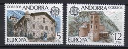 Andorre Espagnol - Andorra 1978 Y&T N°108 à 109 - Michel N°115 à 116 *** - EUROPA - Andorre Espagnol