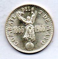 PERU, 20 Soles, Silver, Year 1966, KM #249 - Peru