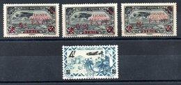 Levant F.F.L. Luftpost Y&T PA 1* - PA 3* (tâches De Rousseur ), PA 10** - Levant (1885-1946)