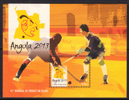 2013 Angola Field Hockey Complete Souvenir Sheet MNH - Angola