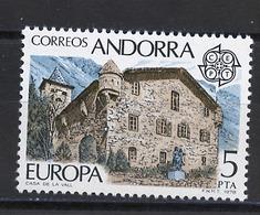 Andorre Espagnol - Andorra 1978 Y&T N°108 - Michel N°115 *** - 5p EUROPA - Andorra Española