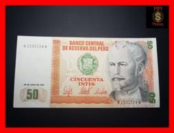 PERU 50 Intis 26.6.1987  P. 131 B  UNC - Perù