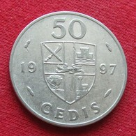 Ghana 50 Cedis 1997 KM# 31 Gana - Ghana