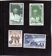 CG39 - 1959 Terre Antartiche Australiane - Spedizione Shackleton, Team Weazel , Pinguino Imperatore - Research Programs