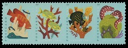 Etats-Unis / United States (Scott No.5366a - Coral Reefs) [**] Strip - United States