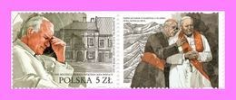 2020 Poland  100th Anniversary Of The Birth Of Saint John Paul II Joint Issue With Slovak Post Office With Tabs MNH  ** - 1944-.... Republic