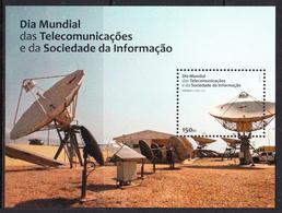 2012 Angola World Telecommunications Day  Complete Souvenir Sheet MNH - Angola