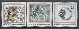 Albania 1989 - Treasures, Mi-Nr. 2388/90, MNH** - Albanië