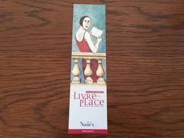 Marque Page Le Livre Sur La Place - Bookmarks
