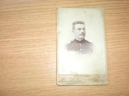 Old Cardboard Beograd Uspomena Atelje Kenig Soldiers Visite Portrait - Serbie