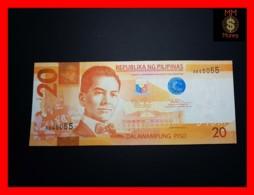 PHILIPPINES 20 Piso 2010 P. 206 A  UNC - Filippijnen