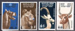 1976 - EGITTO -  Mi. Nr. 1212/1215 - NH - (AS2302.55) - Egypt