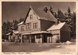 ! Alte Ansichtskarte Bahnhof Drei Annen Hohne Der Nordhausen Wernigeroder Eisenbahn, Harz - Gares - Sans Trains