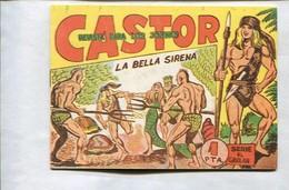 Castor De Manuel Gago, Facsimil Numero 21: La Bella Sirena - Libros, Revistas, Cómics