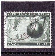 CG39 - 1948 Argentina - Congresso Panamericano Di Cartografia -Mappa - Eventos Y Conmemoraciones