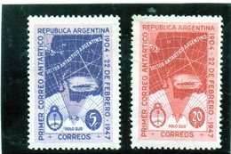 CG39 - 1947 Argentina - Servizio Aereo Antarctic Claims - Poolvluchten