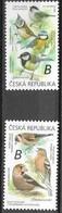 CZECHIA,  CZECH REPUBLIC, 2020, MNH, BIRDS, 2v - Oiseaux