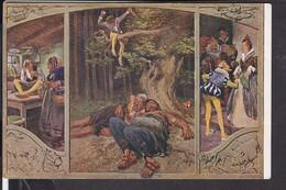 """Künstlerpostkarte Paul Hey Märchen """" Das Tapfere Schneiderlein """" - Fairy Tales, Popular Stories & Legends"""