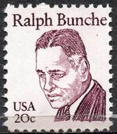 USA 1982 Great Americans: 20¢ Ralph Bunche - United States
