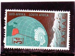 CG39 - 1959 Sud Africa - Spedizioni Antartiche - Research Programs