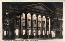 ! Alte Ansichtskarte Dessau, Altes Theater, 1928 - Dessau