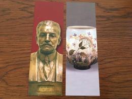 Marque Page Arts Et Musées X2 - Bookmarks