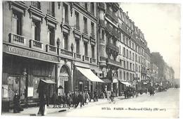 PARIS - Boulevard Clichy - Distrito: 09