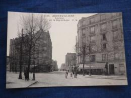 CPA Aubervilliers, Avenue De La République E.-M./ Malcuit N°4156 - Aubervilliers