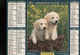 CALENDRIER ALMANACH 2005 - Calendarios