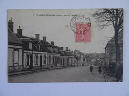 CPA  27 TILLIERES-sur-AVRE Cote De Verneuil 1905   TBE - Tillières-sur-Avre