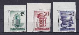 Jugoslawien Nr.927-929 ** Eckrand - Ungebraucht