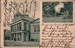 ! Alte Ansichtskarte Eutin, Warenhaus Rudolph Karstadt, 1900 - Eutin