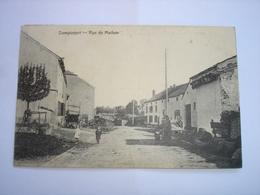 TOP CPA !! DAMPICOURT ( ROUVROY MEIX VIRTON ) - RUE DE MATHON ( 1921 ) - Rouvroy
