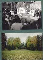 Moresnet  -lot De 5  Photos 15x10 - Calvaire - Autel- Ceremonie-cure - Plombières