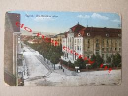 Croatia / Zagreb - Draškovićeva Ulica - Cenzura ? ( Traveled To Vinkovci ) - Croatia