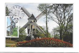 4486 - MOULIN A VENT DE CASSEL - Oblitération Manuelle De Cassel (59) - TB - Maximumkarten