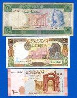 Syrie  3  Billets - Syrien
